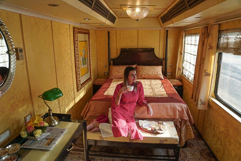 No doubt Palace on Wheels is one of the best luxury train trips in India. We love it!