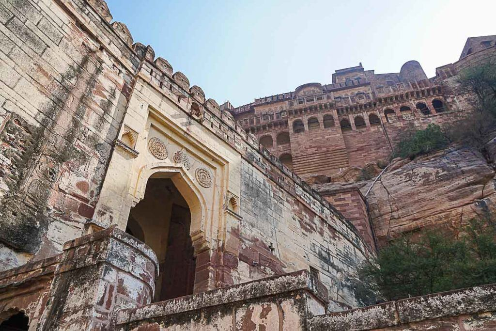 The Mehrangarh Fort was another great attraction on Palace on Wheels itinerary, the place is a Unesco Heritage site.