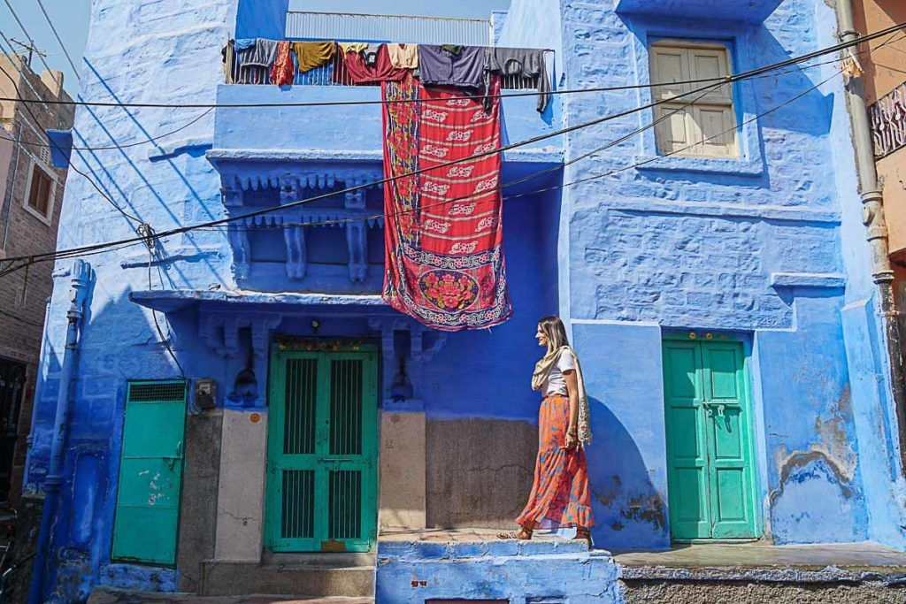The Blue City of Jodhpur is dazzling, I'm so happy it was on Palace on Wheels route in Rajasthan.