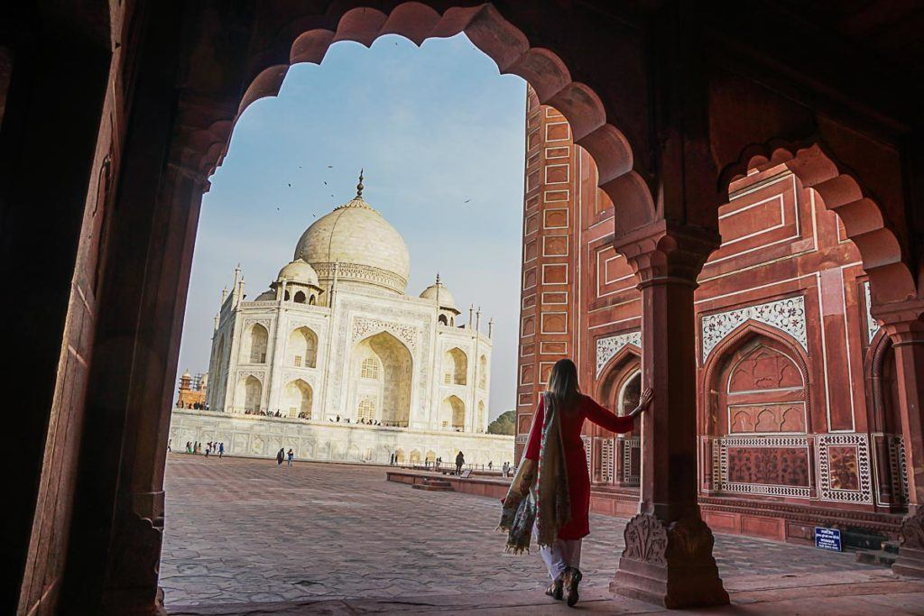 Visiting the Taj Mahal was a dream come true, the last day of our Palace on Wheel train trip was magical.