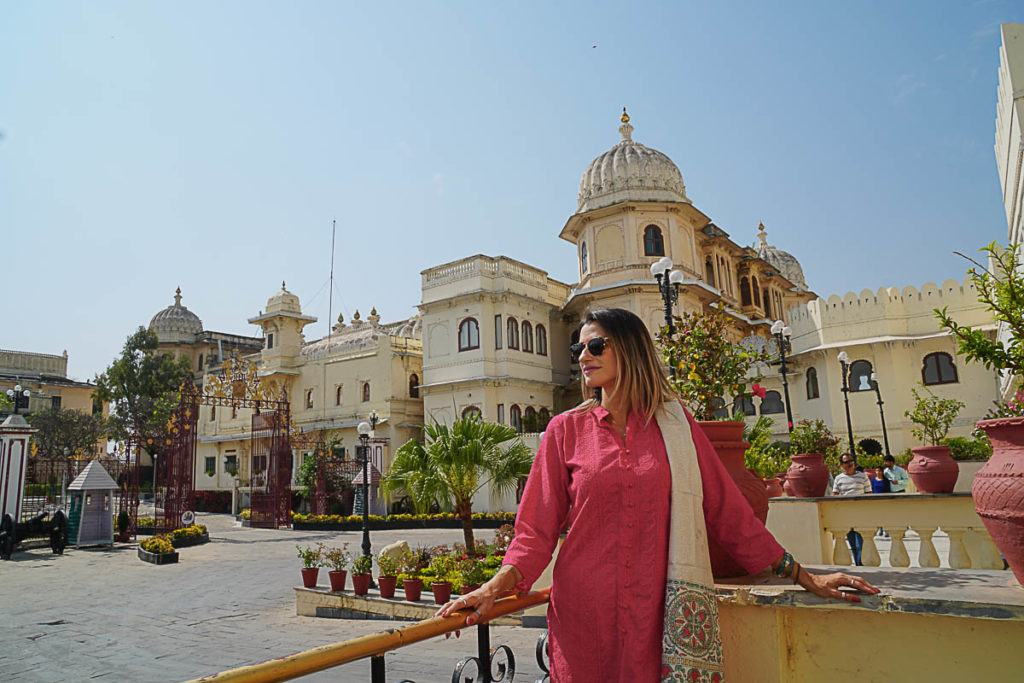The Udaipur City Palace is stunning, a big crowded but worth visiting. It is one of the top places to visit in Rajasthan.