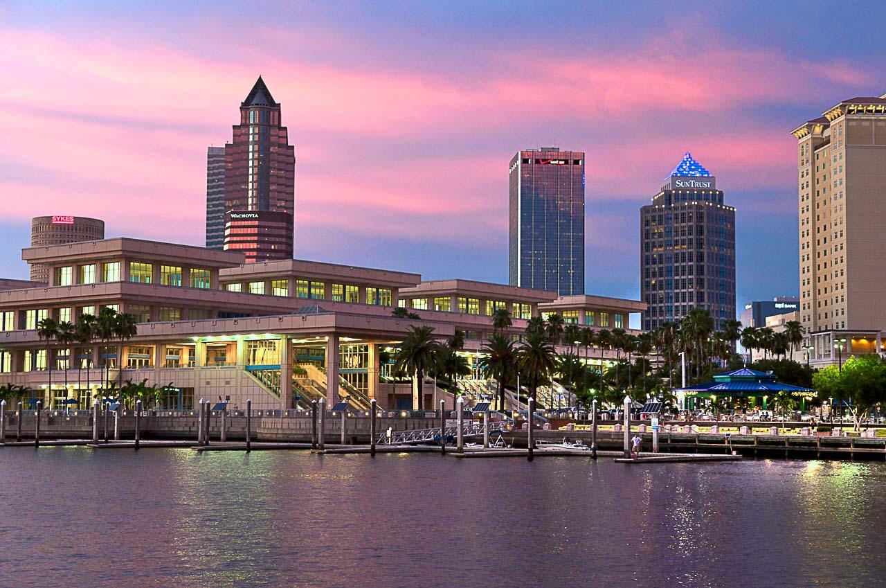 Nossas recomendações das melhores coisas para fazer em Tampa, Flórida, incluem uma visita ao centro da cidade (Downtown).
