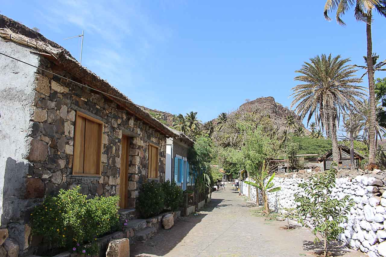 One of the best things to do in Santiago Cape Verde is to visit the Rua Banana.