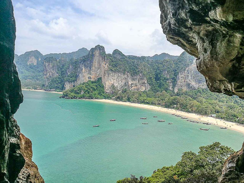 Among of the best things to do in Krabi are some top adventures in Railay Beach.