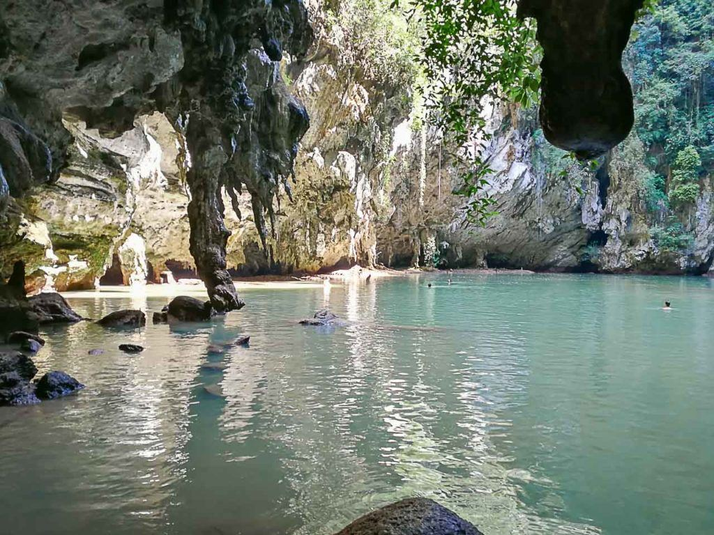 Visit the Princess lagoon is just one of the cool things to do in Railay Beach, Krabi - Thailand.