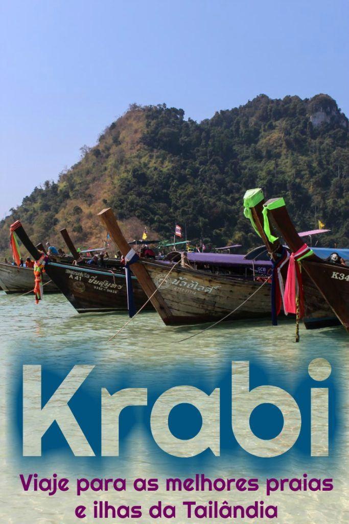 Super Guia de Krabi, na Tailândia. Como viajar para Krabi e visitar as praias e ilhas. O que fazer em Krabi, atrações em Railay Beach, Ao Nang, e passeios de barco para as ilhas. Dicas de onde ficar em Ao Nang, melhores resorts em Railay Beach e acomodação em Krabi Town. #Krabi #Tailandia #KrabiHotel #Krabidicas #RailayBeach #AoNangHotel #OquefazeremKrabi