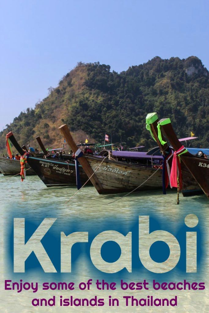 The Ultimate Guide to Krabi, Thailand. Tips to plan your trip to Krabi Province. How to get to Krabi and around. Things to do in Krabi, attractions in Railay Beach and Ao Nang, and boat trips to the best Krabi Islands. Plus where to stay in Ao Nang, best resorts in Railay Beach and accommodation in Krabi Town. #Krabi #Thaiand #KrabiHotels #KrabiThingstodo #RailayBeach #AoNangHotel #TravelTips