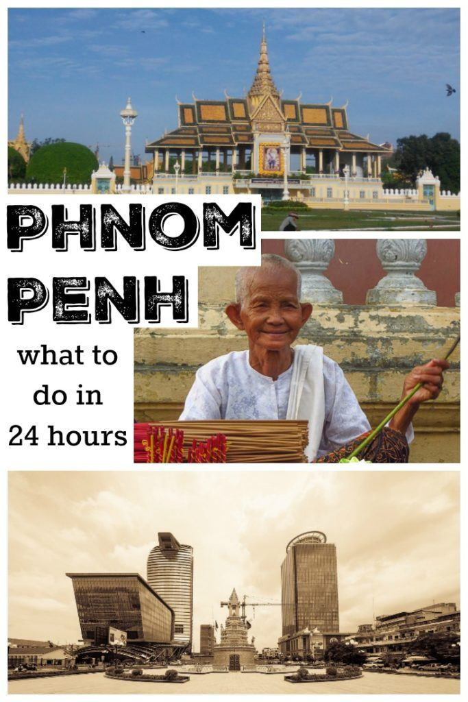 All you need to know to spend 24 hours in Phnom Penh, Cambodia. What to do in one day in Phnom Penh, where to stay, places to eat and how to enjoy the local life. A quick guide to the best of Cambodia's capital. #PhnomPenh #Cambodia #PhnomPenhthingstodo #PhnomPenhHotels
