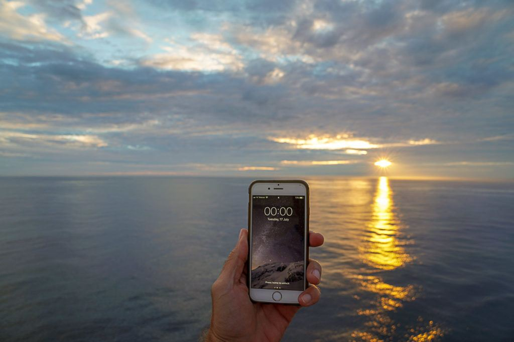 The Midnight Sun is only one of the many natural spectacles you can witness during this Viking Ocean Cruise through Norway and UK.