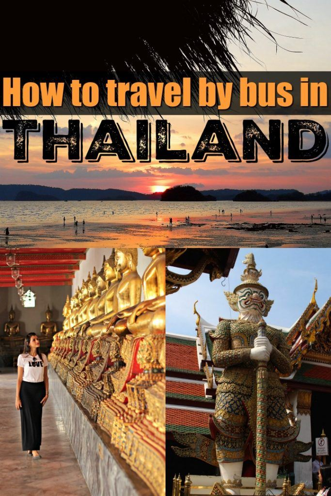 The ultimate guide to travel Thailand by bus. All you need to know about destinations, routes, type of buses in Thailand and stations. Where to search for timetables and how to by bus tickets in Thailand online and hassle-free. If you know how to plan your trip, busses can be one of the best ways to travel around Thailand especially if you want to save money and time. #Thailand #ThailandTravel #ThailandBus