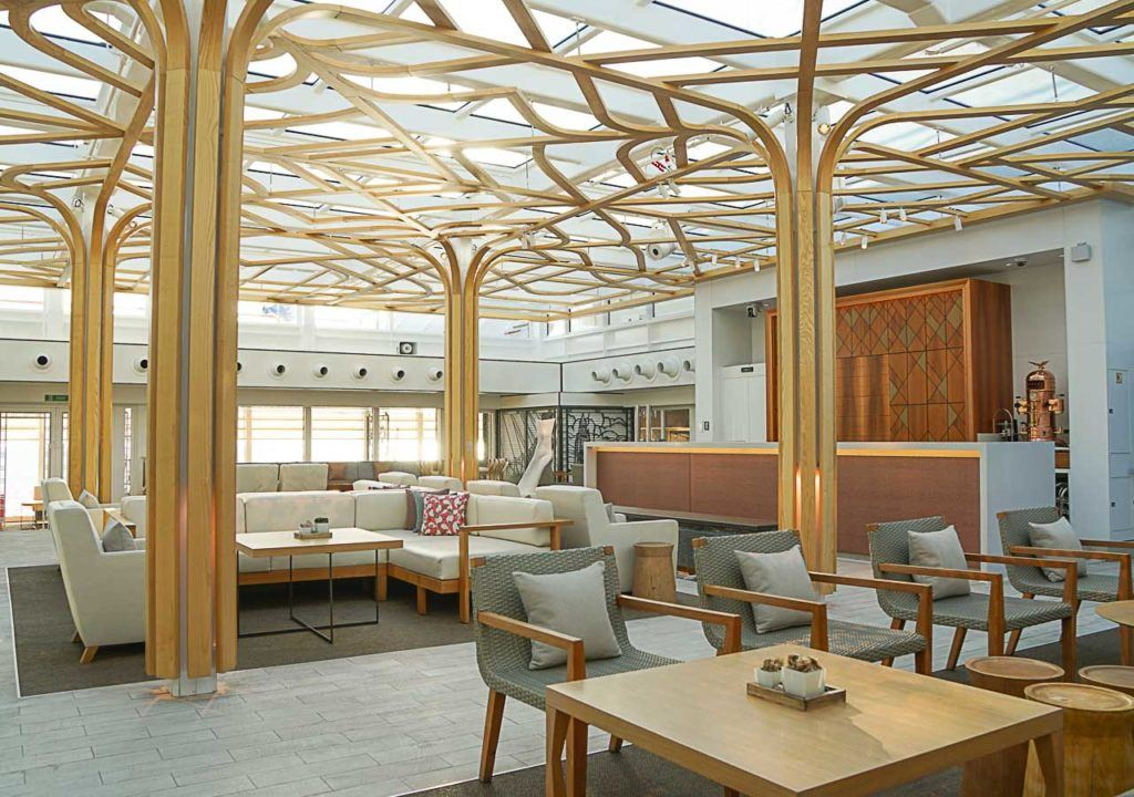 Viking Cruise Wintergarden restaurant is the place be at 4pm when they serve an extraordinary high tea.