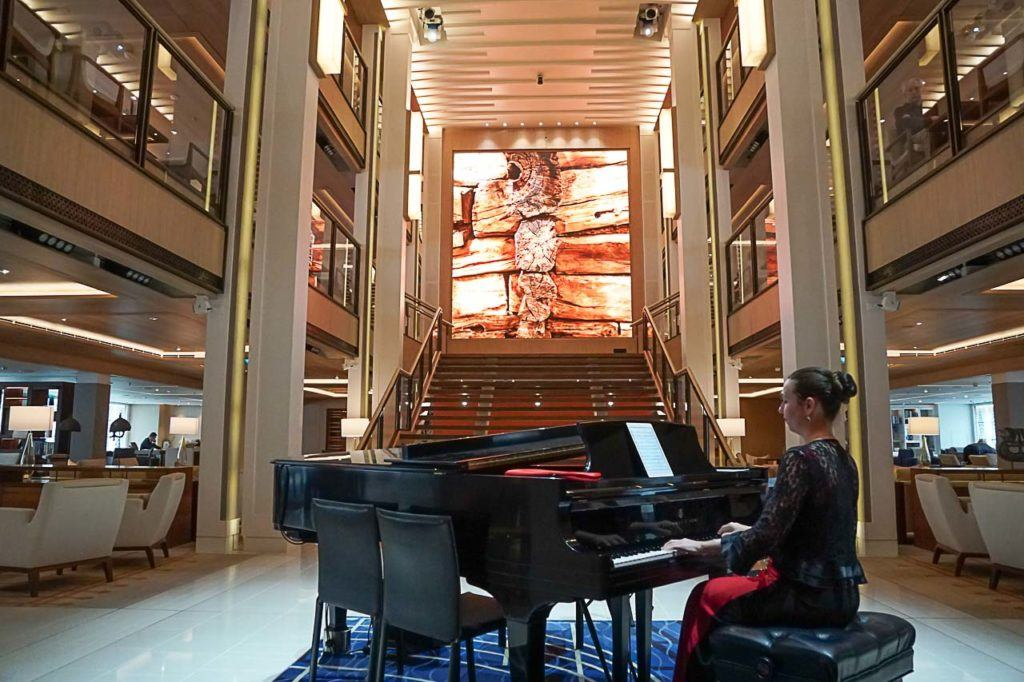 The entertainment onboard Viking Ocean Cruise is amazing, there are tons of things going on all the time.