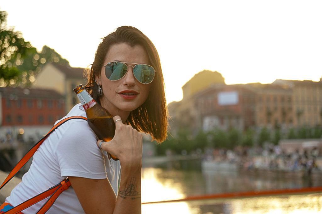 Coloque no seu roteiro de Milão uma passadinha no Naviglio, melhor ainda se for para curtir o pôr do sol.