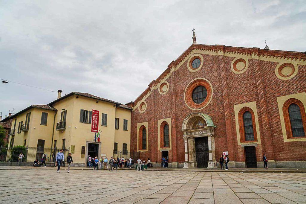 Fica a dica do que fazer em Milão: para visitar a pintura da Última Ceia é preciso comprar o ingresso com meses de antecedência.