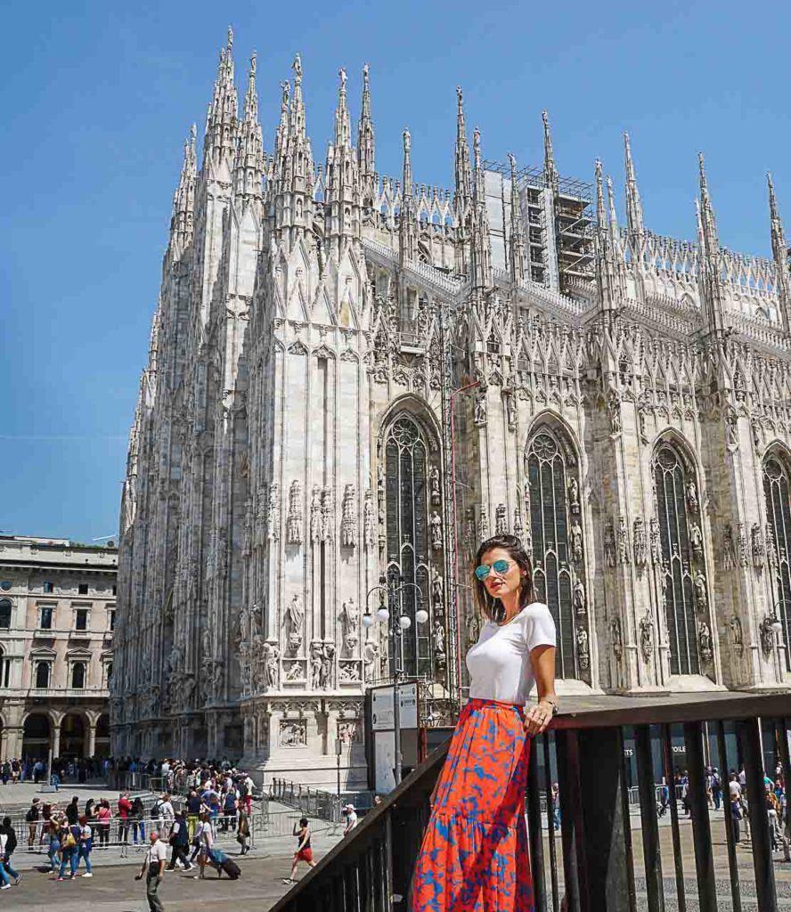 A primeira coisa que você deve fazer em Milão é visitar a Catedral Duomo.