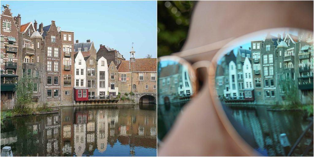 Que tal fotografar o lado romântico e charmoso de Rotterdam? Visite o Delfshaven, um dos lugares mais legais para fotos em Rotterdam.