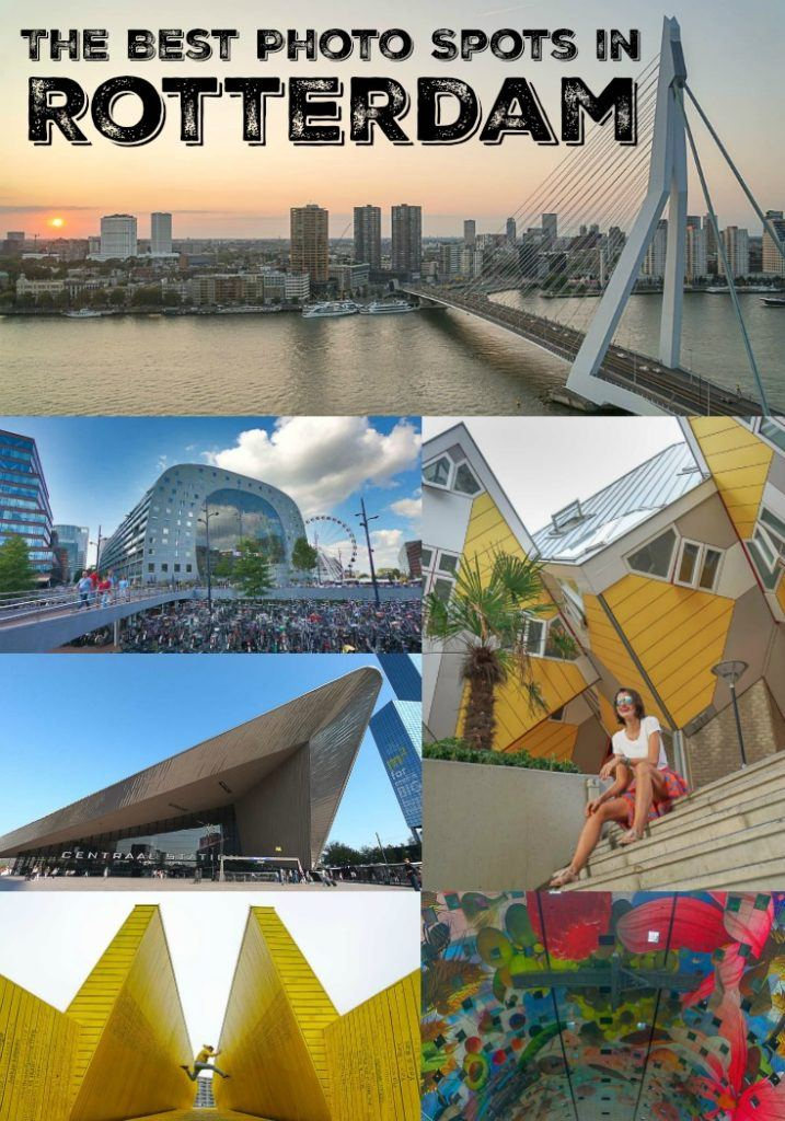 Get your camera ready for the best photo spots in Rotterdam, The Netherlands. From Urban shots to architectural photography and portraits, ideas and photo locations in Rotterdam that will inspire to explore the city. If you like to snap cool shots while traveling in an amazing destination, these Rotterdam photo spots will light up your wanderlust. #Rotterdamphotography #RotterdamPhotoSpots #RotterdamPhotoLocation #RotterdamTravel