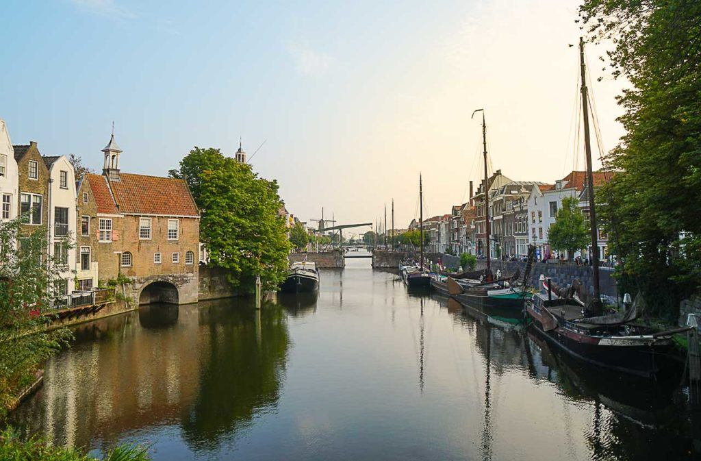 Visit Delfshaven and discover how Rotterdam used to be before the WWII.