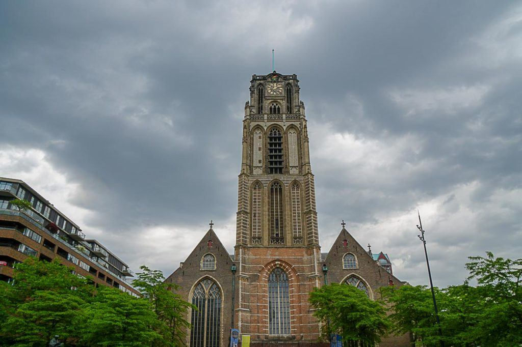 St. Laurence Church is the only medieval building in Rotterdam and one of the city's top attraction.