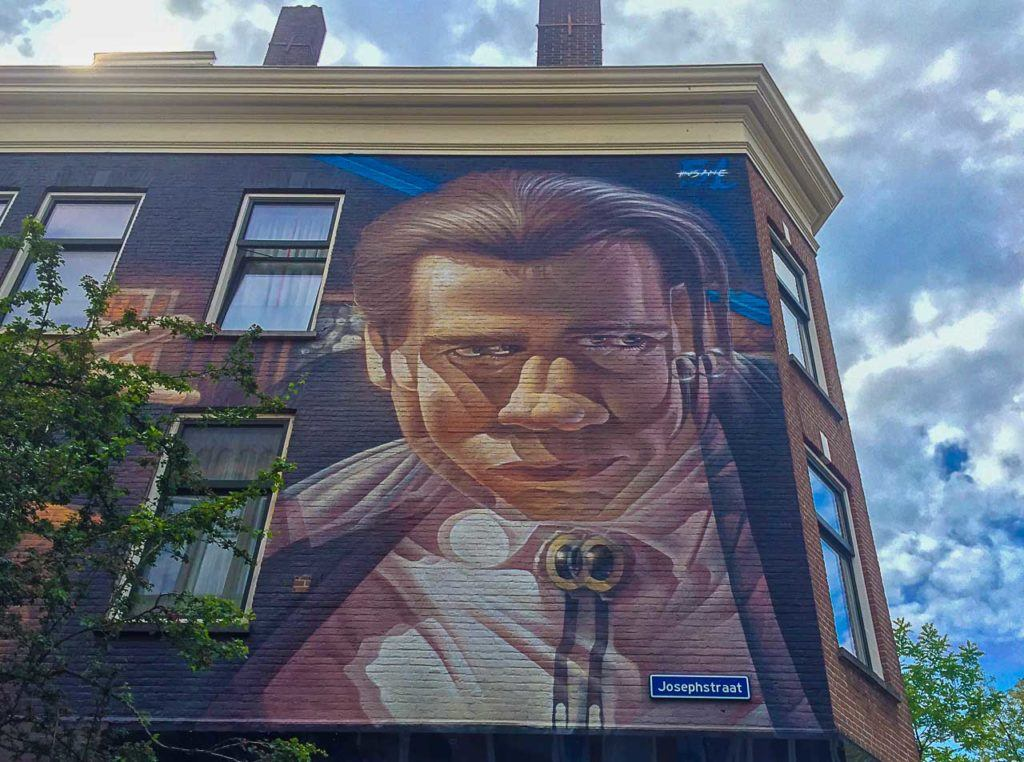 Go on a self-guided tour to discover some of the best street art in Rotterdam.