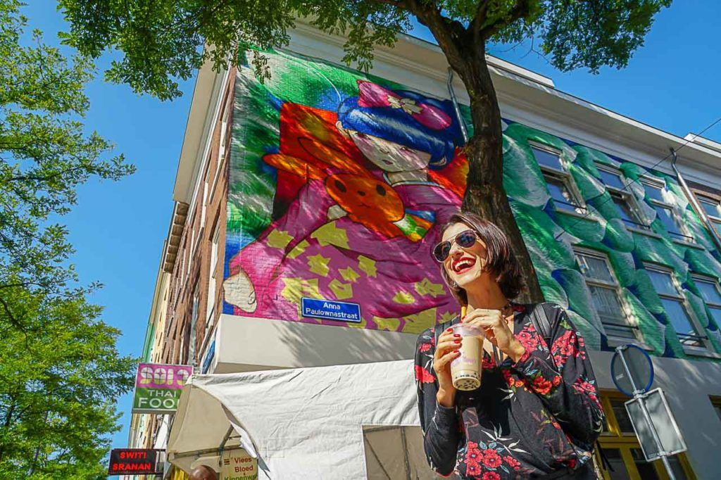 Want to do something local in Rotterdam? Go to Chinatown for bubble tea and street art.