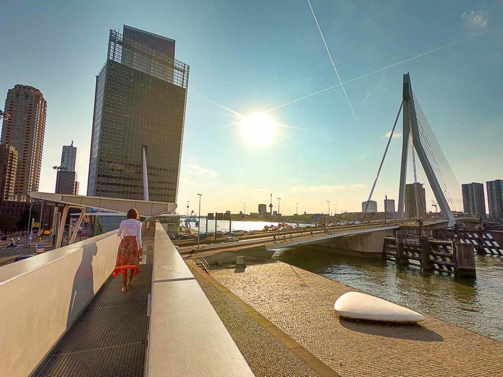If you like modern architecture Kop van Zuid is the best location to stay in Rotterdam, some of the top hotels are there and the best views in town.