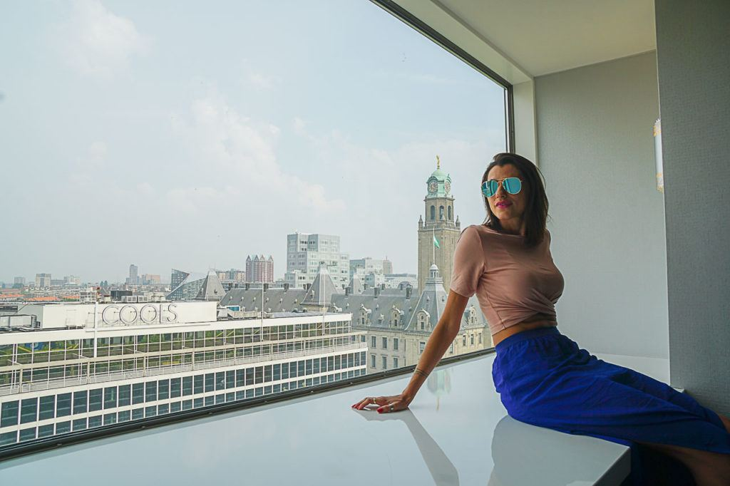 Hilton Hotel is one of the best hotels in Rotterdam close to Central Station.