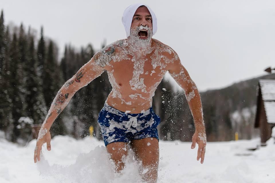 Esta é a Banya! A tradicional sauna da Sibéria.