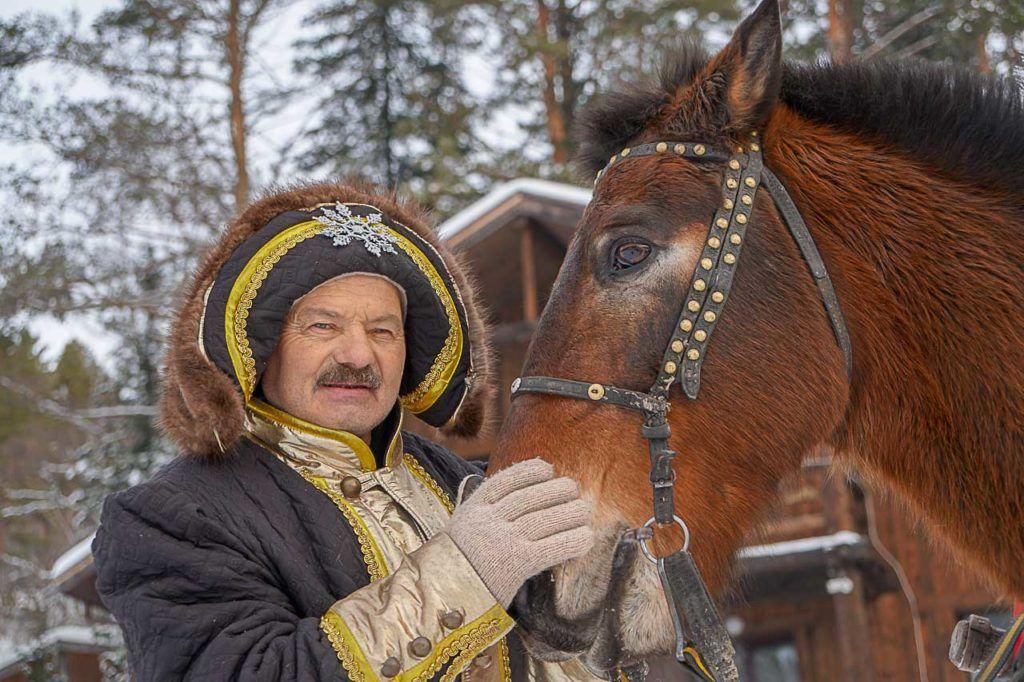 O povo da Sibéria é muito acolhedor e orgulhoso de suas tradições e cultura.