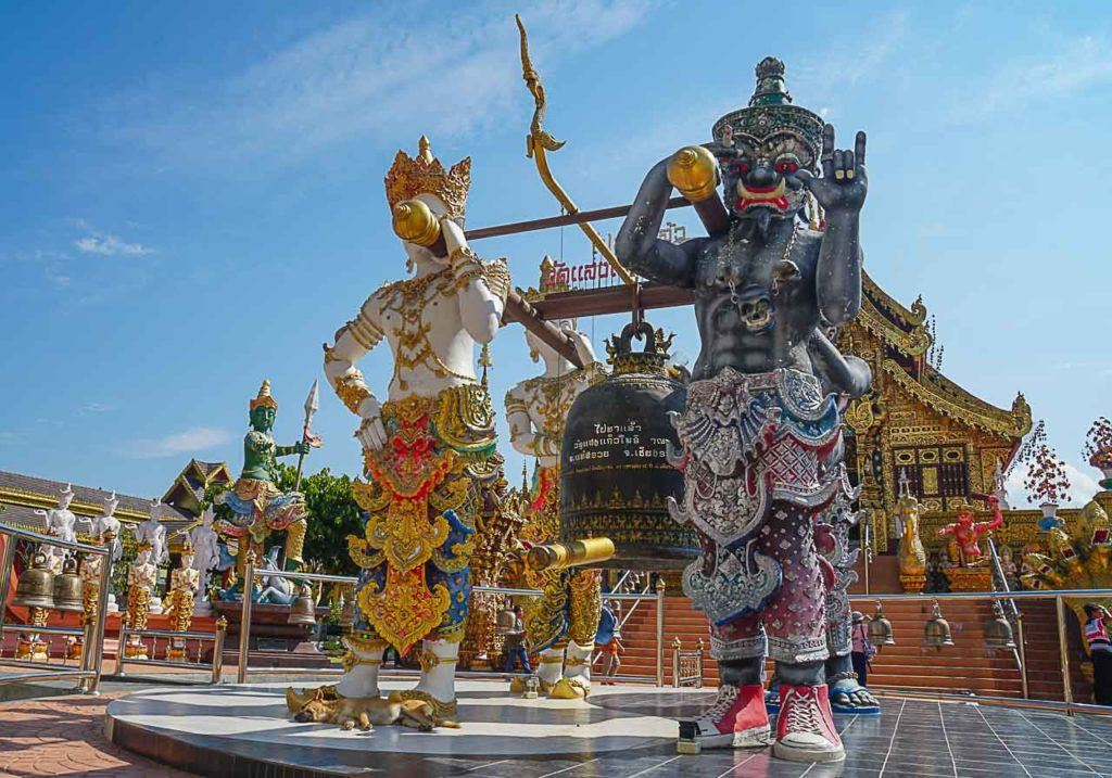 This day trip to Chiang Rai was special because I learned about Thai culture and believes.