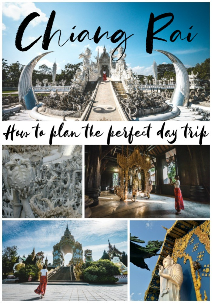 It's time to plan the perfect day trip to Chiang Rai, Thailand. Why you should visit Chiang Rai temples, how to plan a day trip from Chiang Mai to Chiang Rai and why a day tour to Chiang Rai can be the best option for travelers who want to see the top attractions with a local twist. Plus travel tips to where to stay and delicious local food in Chiang Rai.