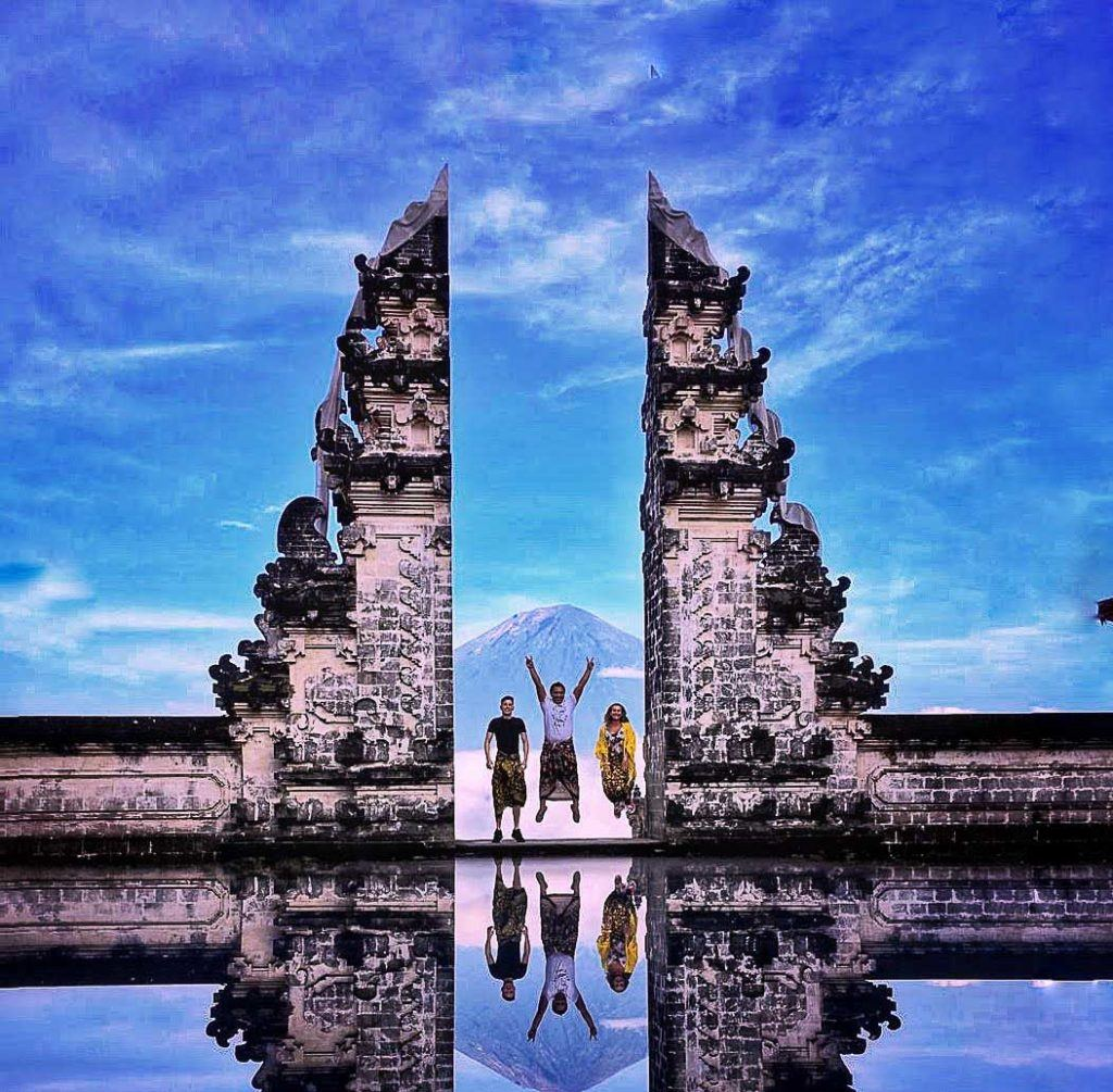 Lempuyang Temple is one of the most photogenic locations in Bali.