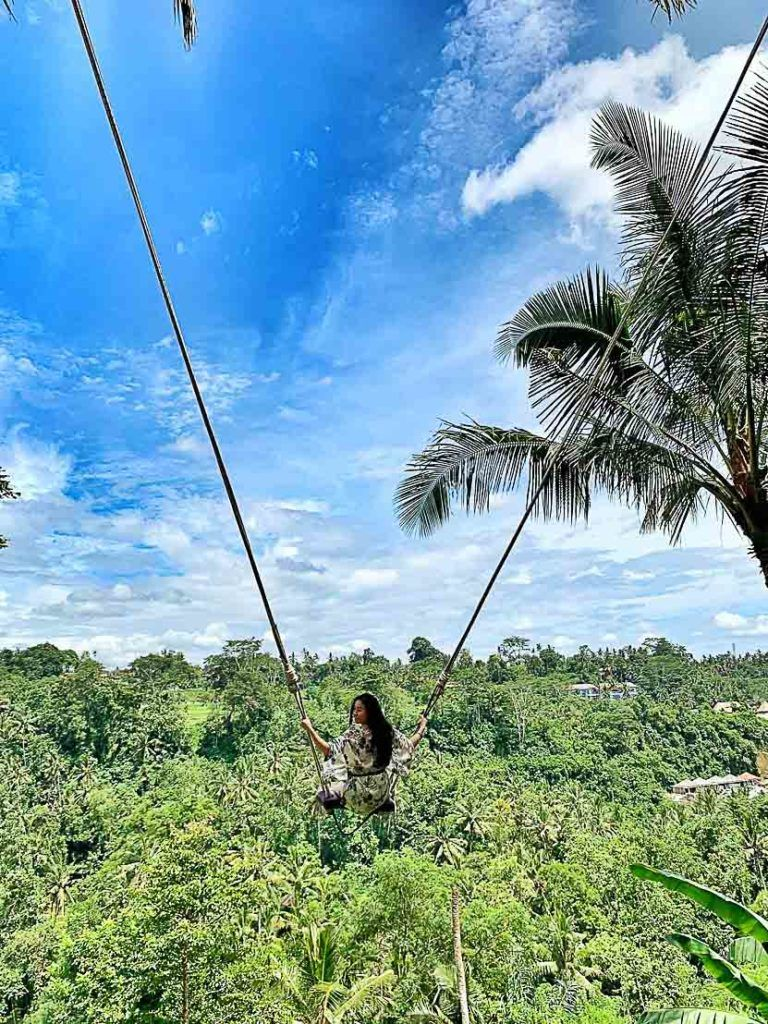 Did you really come to Bali if you didn't get on a swing?