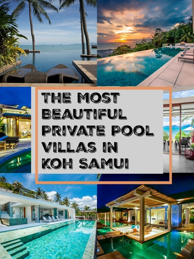 Fall in love with some of the most luxurious and best private villas in Koh Samui, Thailand. Doesn't matter if you are traveling with family, friends or as a couple, here you can find the perfect pool villa in Koh Samui for your next holiday. We listed all the facilities, locations, best beaches around and how to save on your booking.