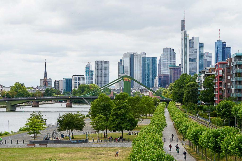 Frankfurt was the starting point of our Rolling on the Rhine River Cruise.