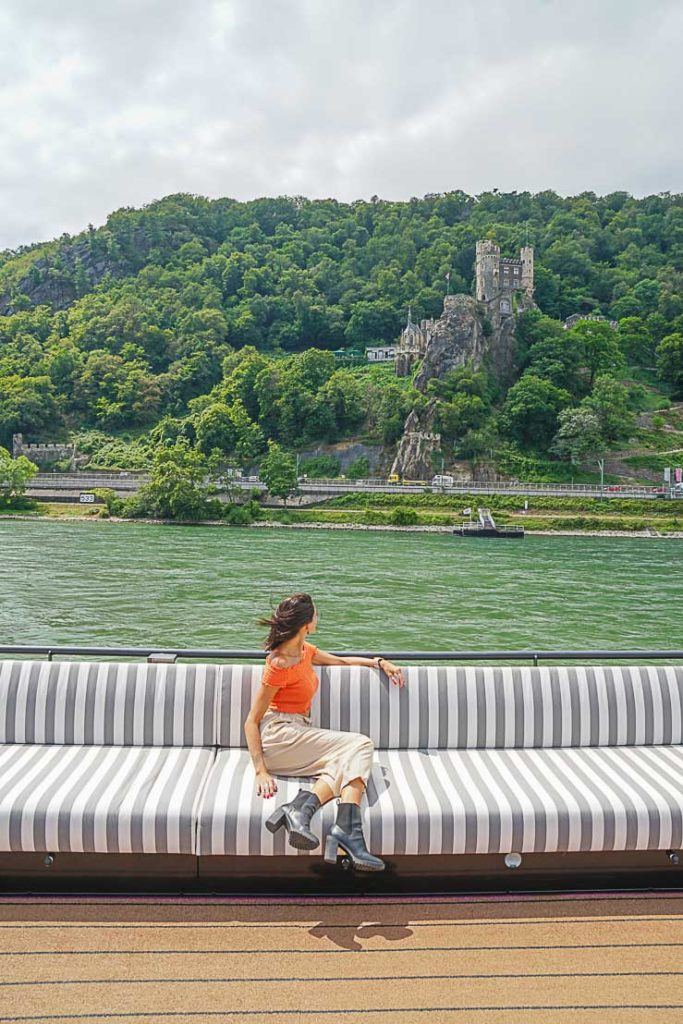 The Rhine Gorge scenic sailing was a highlight of our Rolling on the Rhine river cruise.