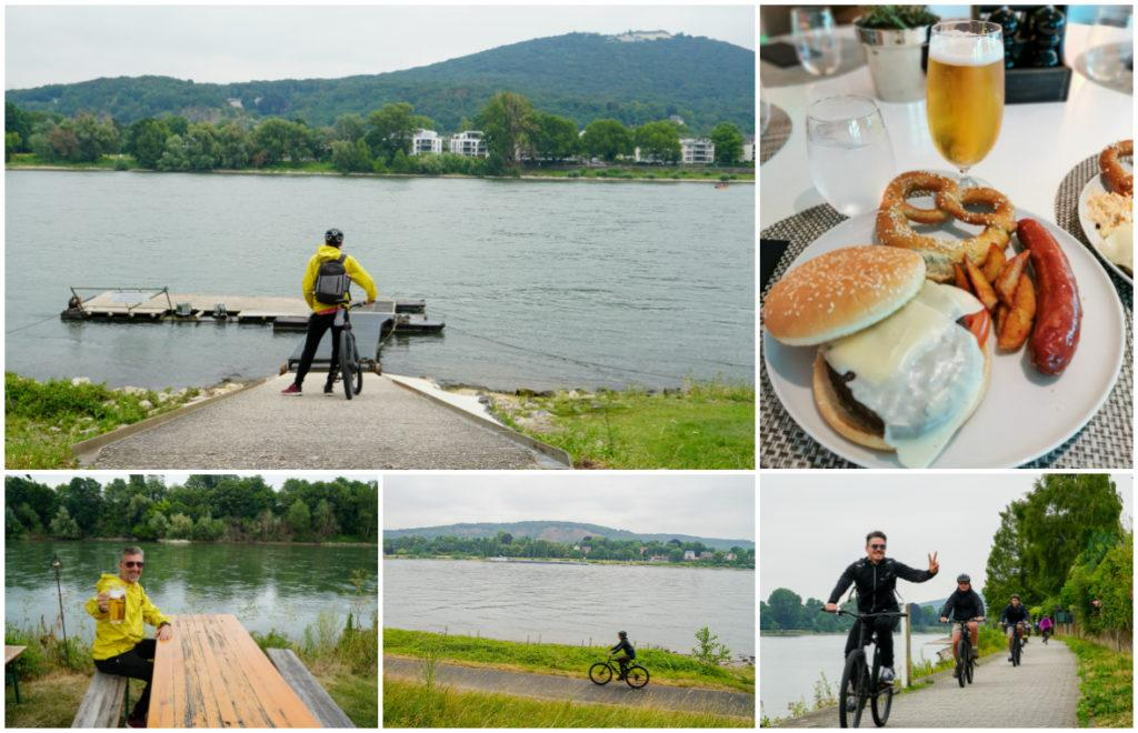 There was more cycling during our Rolling on the Rhine river cruise, this time from Remagen to Boon.