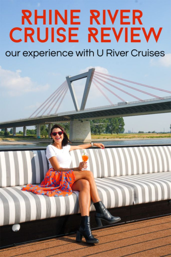 Discover the best river cruise in Europe for young adults. We share all the details about our Rolling on the Rhine River Cruise Review, from itinerary to tours, activities, food, rooms and much more. If you dream of going on a river cruise from Germany to The Netherlands, this trip might be the perfect option for you. #rivercruises #cruiseeurope #rhineriver #cruisereview #adultcruise