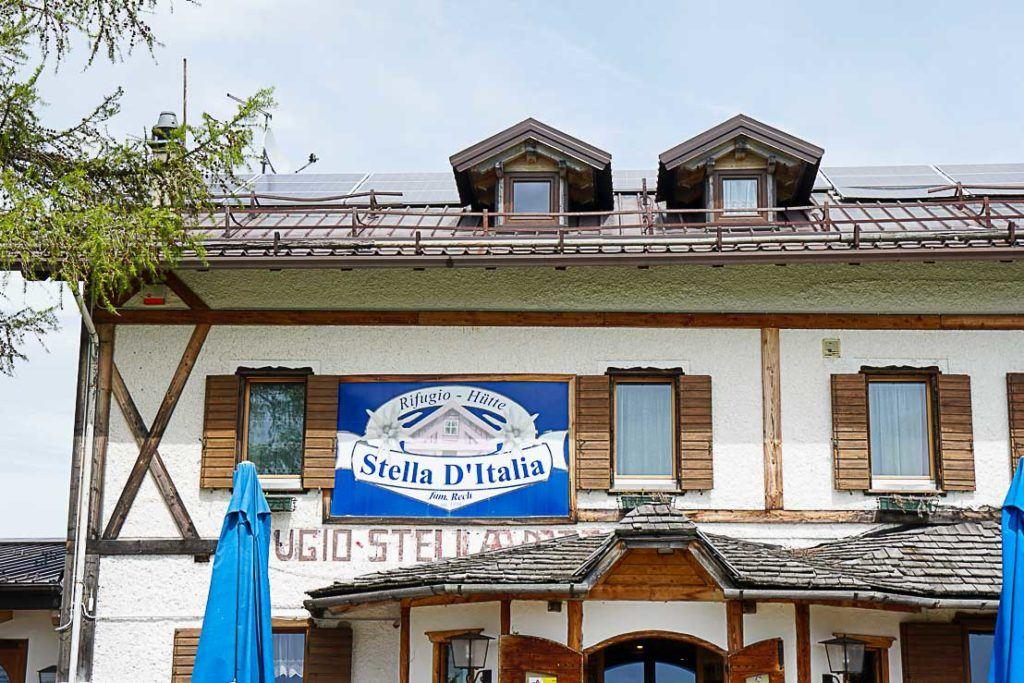 Alpe Cimbra accommodation.