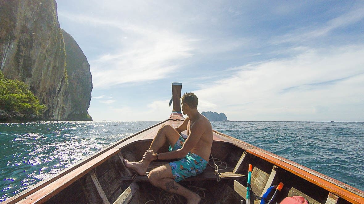 How to get to Koh Phi Phi Thailand