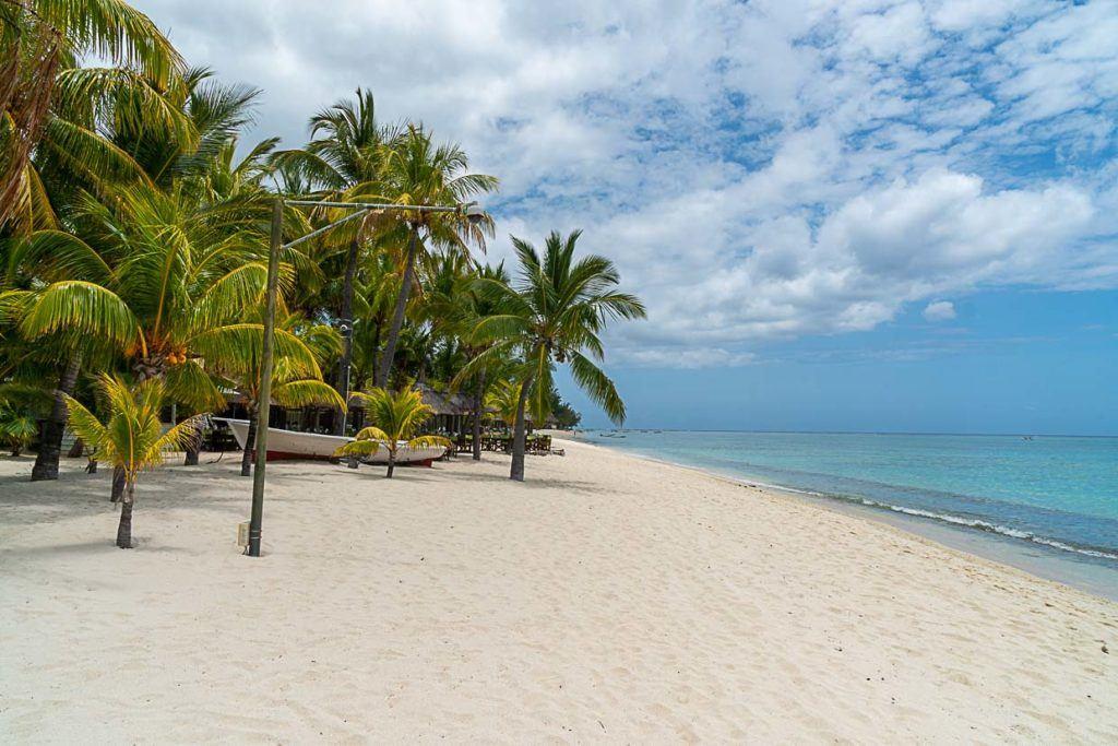 Praia deslumbrante nas Ilhas Maurício.