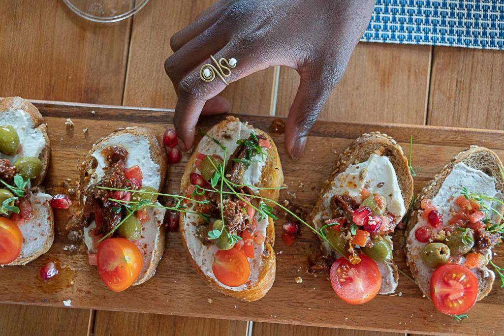 Nas Ilhas Maurício você pode provar comida local e também refeições requintadas.