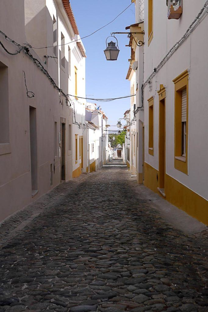 Historic streets suggested as things to do in Evora, Portugal.
