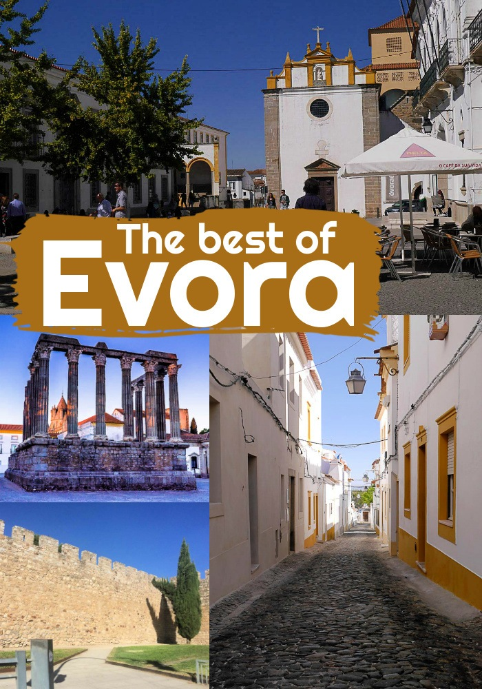 Travel tips, what to do in Evora and where to stay. In this travel guide, you will find all the unmissable things to see in Evora on a day trip or in a longer stay. Plus tips on how to get around and travel from Lisbon to Evora. #evora #evoraportugal #evoraportugaltravel #evoraportugalpictures