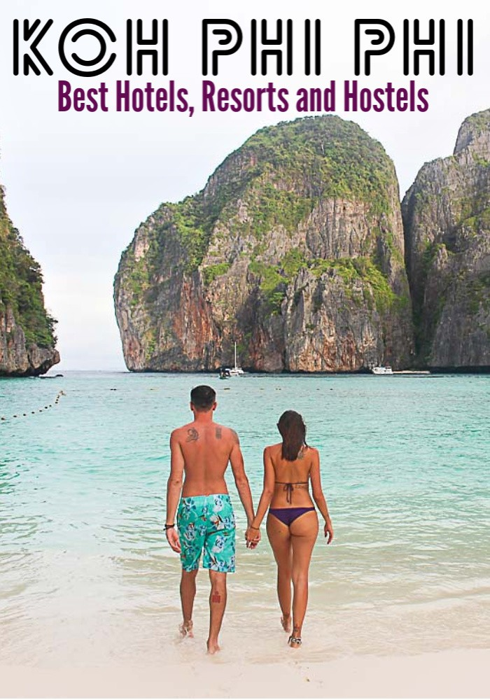 Here is a list of the best hotels, resorts, and hostels in Koh Phi Phi, Thailand. Tips on how to book the perfect hotel in Koh Phi Phi for any traveler. Plus recommendations on where to stay in Phi Phi considering your travel budget, from luxury hotels and resorts on secluded beaches to party hotels and cheap hostels on the island. #phiphi #phiphihotel #phiphiluxury #thailand #thailandtravel