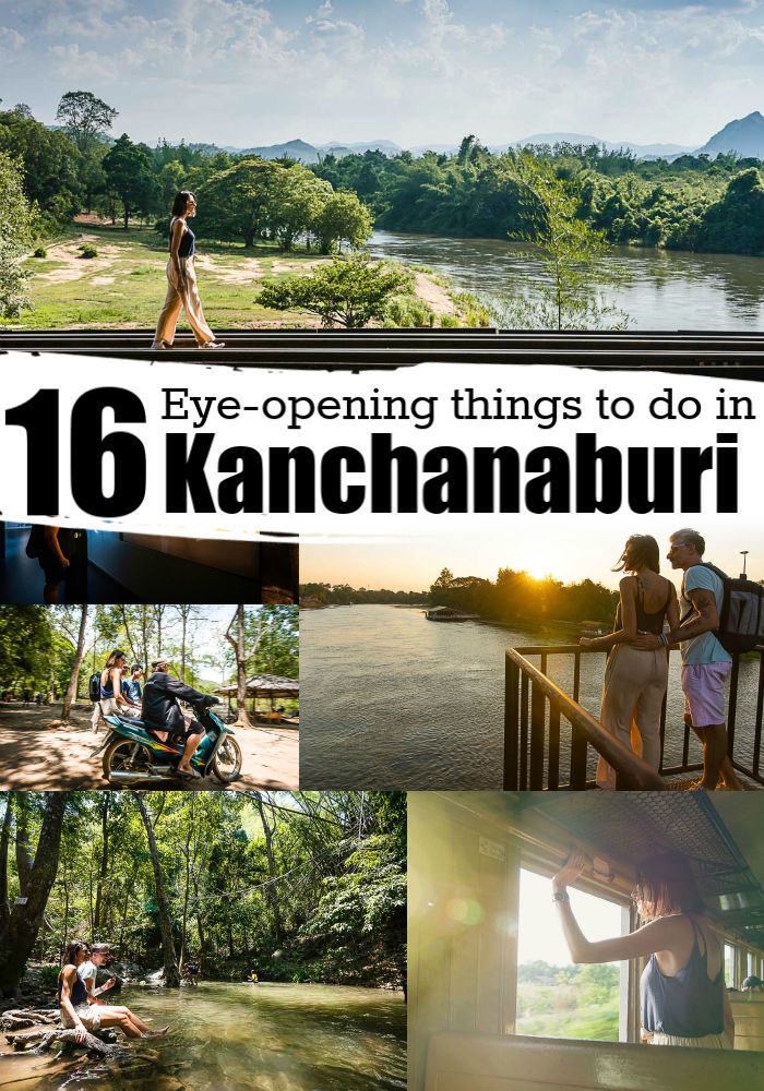 Discover all the best things to do in Kanchanaburi, Thailand. This guide will take you to the best attractions in Kanchanaburi, places to visit, and hidden gems. From cultural and historic landmarks as the River Kwai Bridge and the Death Railway to temples, stunning waterfalls, and natural parks. Plus travel tips to where to stay in Kanchanaburi, and how to get there. #Kanchanaburi #Thailand #Kanchanaburithingstodo #kanachanaburihotels