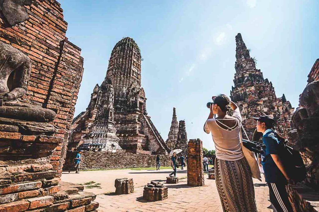 Wat Chaiwatthanaram is one of the most beautiful temples in Ayutthaya.