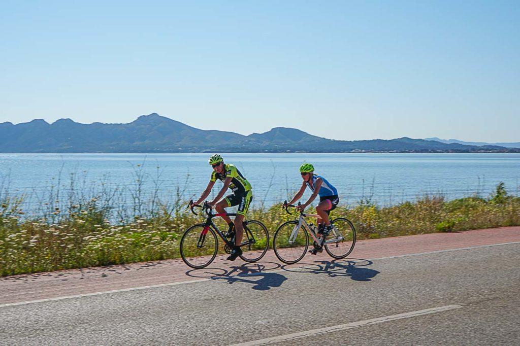 Fazer ciclismo em Porto de Pollensa é uma atividade para todos.