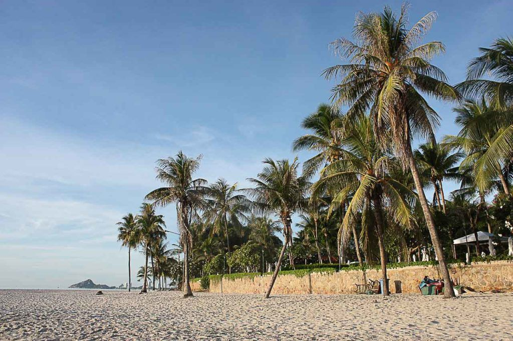 Hua Hin Beach is one of the most relaxing attractions in Hua Hin.