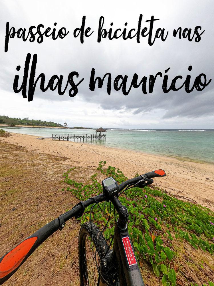 Passear de bicicleta nas Ilhas Maurício é uma aventura incrível. Fizemos um tour de bicicleta elétrica na parte sul de Maurício e adoramos. O tour de bicicleta nas Ilhas Maurício passa por praias deslumbrantes, penhascos de tirar o fôlego, florestas verdes e termina com uma deliciosa comida local. Leia tudo sobre andar de bicicleta nas Ilhas Maurício aqui, como é o passeio, onde fazer suas reservas e como se preparar para esta viagem. #mauricio #ilhasmauricio #viagemmauricio